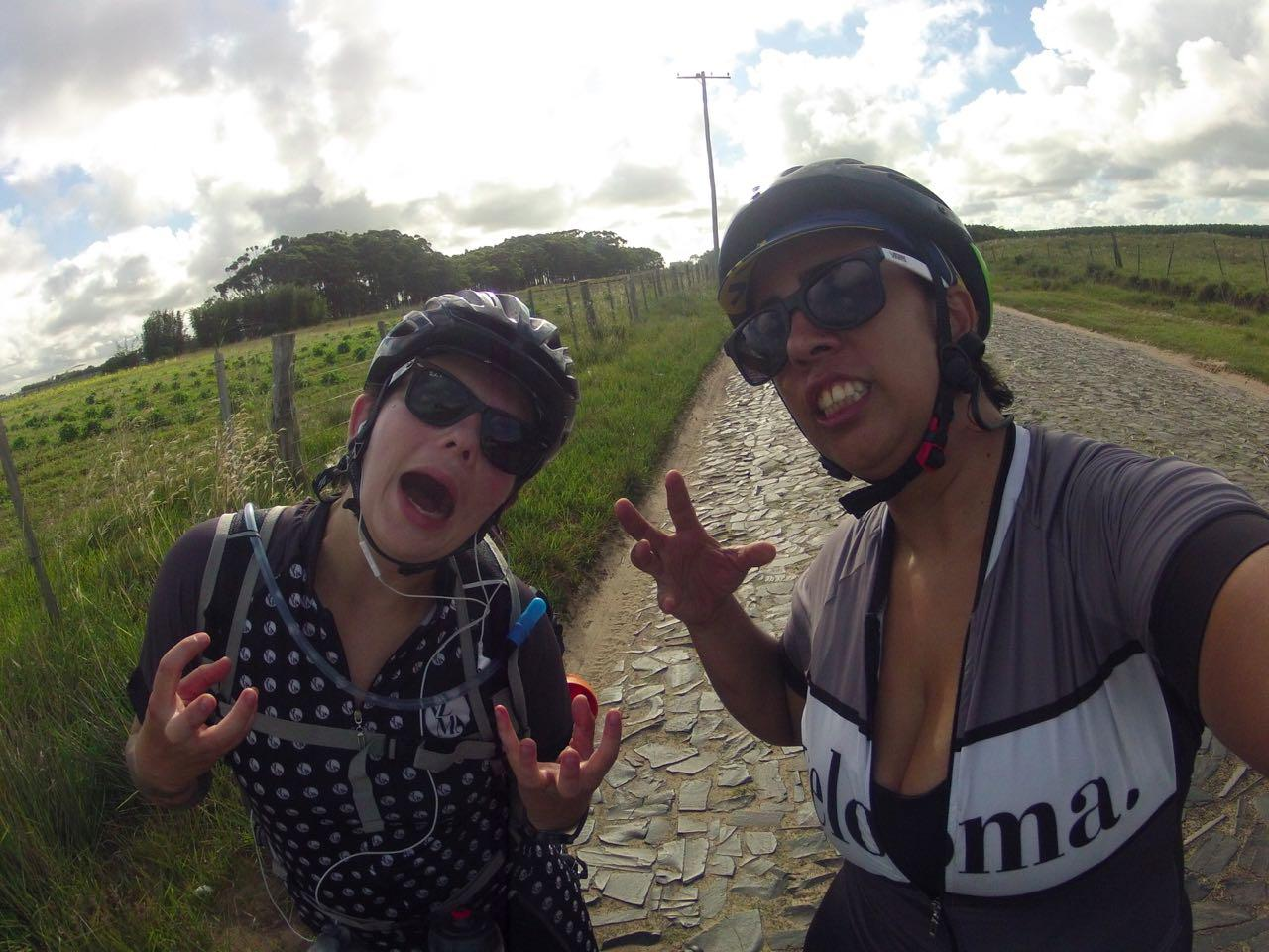 bike handling pavet paralelepipedo
