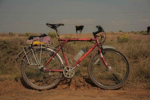Cicloturismo GT Karakoram Cubo Schmidt Rohloff Cromo vbrake magura 1