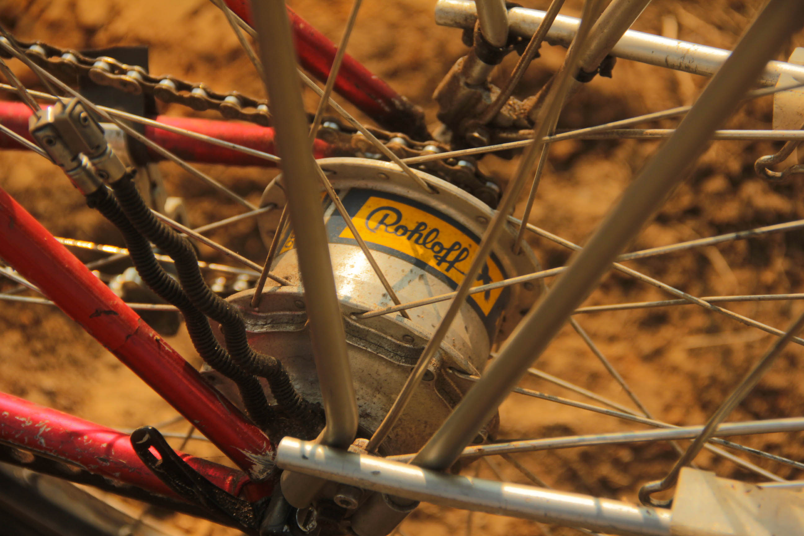 Cicloturismo GT Karakoram Cubo Schmidt Rohloff Cromo vbrake magura 7