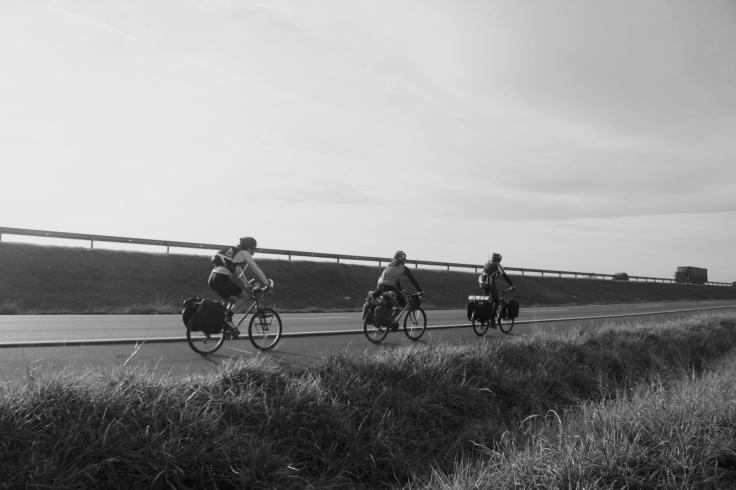 cicloturismo porto alegre imbituba freeway bicicletas carregadas 8
