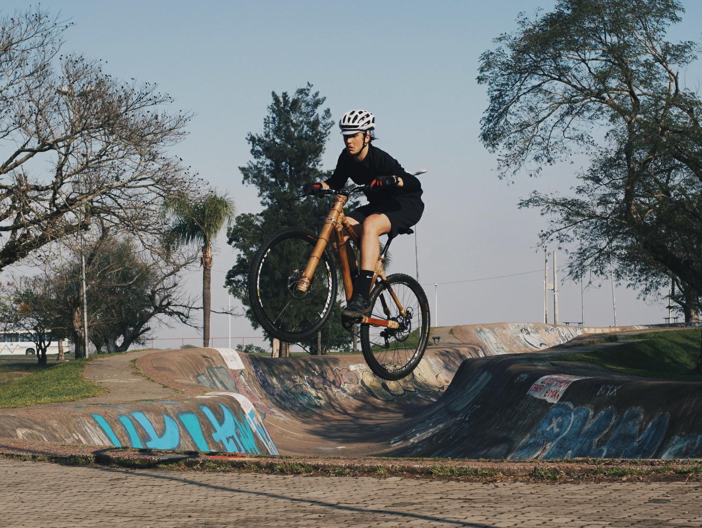 art bike bamboo freeride marinha